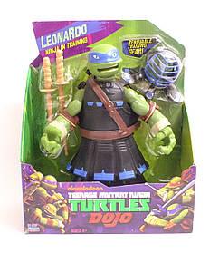 """Оригінальна іграшка-Фігурка Леонардо з серії """"Черепашки ніндзя в обладунках"""" (27 см)"""