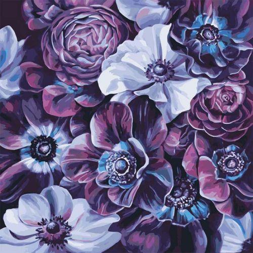 "Картина по номерам ""Пурпурное разнообразие худ. Диана Тучс"" КНО3016"