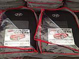 Авточехлы Favorite на Hyundai Accent 2010> sedan,авточехлы Фаворит на Хюндай Акцент от 2010 года седан, фото 2