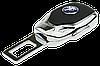 Заглушка - переходник ремня безопасности  с логотипом PEUGEOT VIP КЛАССА (Авиационная сталь, кожа), фото 3