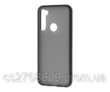"Чехол силікон ""Keva"" Xiaomi Redmi Note 8T чорний (тех.пак)"