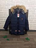 Зимняя  куртка   парка для мальчиков и подростков, фото 3