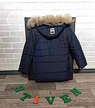 Зимняя  куртка   парка для мальчиков и подростков, фото 4