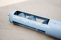 Шнек Ø 133х11000мм (шнековий транспортер, шнековый погрузчик, зернометатель, загрузчик зерна)