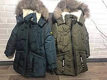 Зимние теплые  куртки  для мальчиков