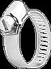 Хомут металлический оцинкованный 160-180