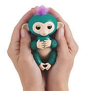 Интерактивная обезьянка Оригинал Фингерлинг Блестящая - Куинси WowWee Fingerlings, фото 4