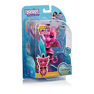 Оригинальный интерактивный ручной дракончик Лекси Fingerlings Pink and Black Glitter Dragon Lexi, фото 8