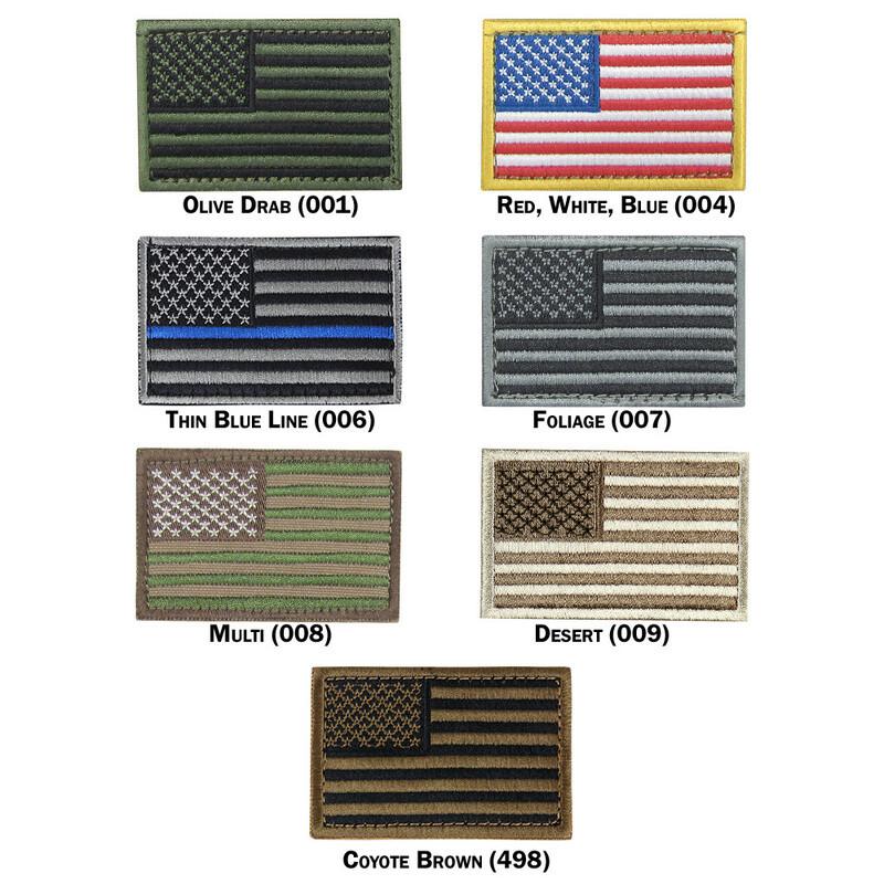 Оригинал Патч шеврон флаг США Condor US FLAG PATCH 230 Стандарт, Черв/Біл/Син