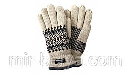 Перчатки вязанные утепленные unisex Grace Thinsulate 40 gram, р.S/M