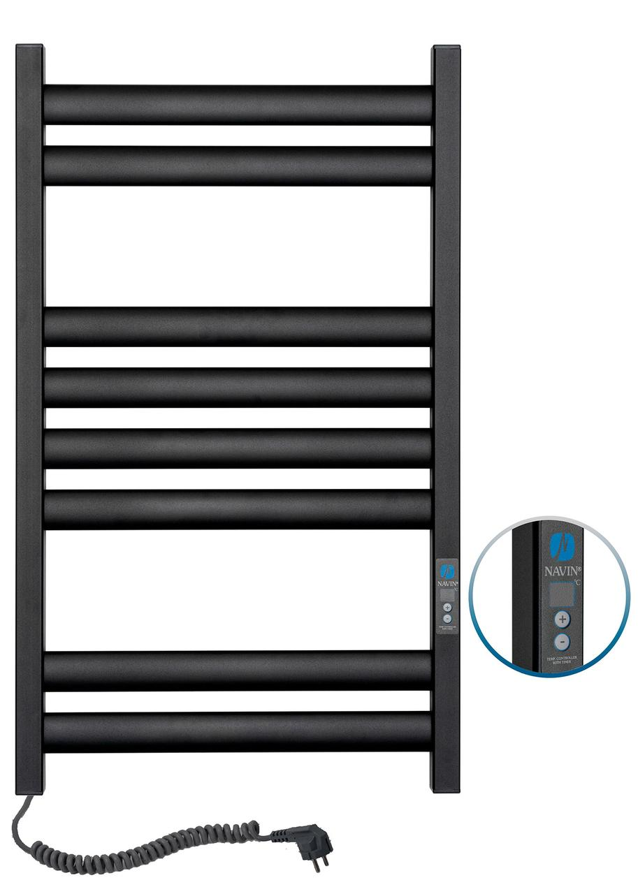 Полотенцесушитель Ellipse 500х800 Digital левый (черный муар) 12-245152-5080