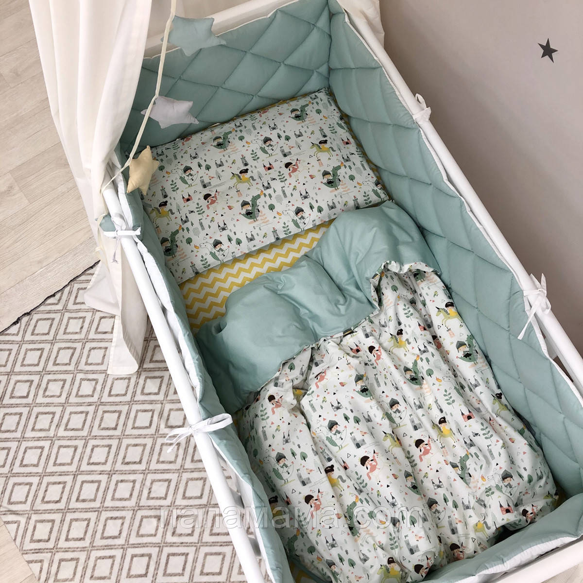Детский постельный комплект Baby Mix Рыцари