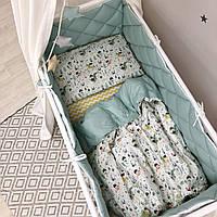 Детский постельный комплект Baby Mix Рыцари, фото 1