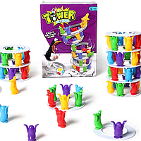 """Игра настольная """"Башня пингвинов"""" развлекательные детские игры веселье настольные игры для всей семьи"""