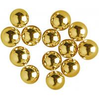 Кульки цукрові золоті 7 мм, (50 г) AMARISCHIA