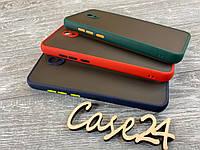 TPU чехол накладка Matte Color Case (TPU) для Xiaomi Redmi 8A (4 цвета), фото 1