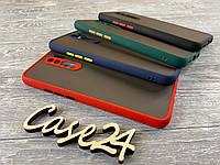 TPU чехол накладка Matte Color Case (TPU) для Xiaomi Redmi 9 (4 цвета), фото 1