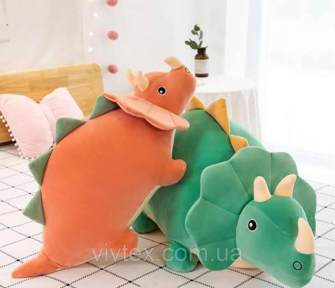 Плед детский + игрушка динозавр подушка 3в1 оптом