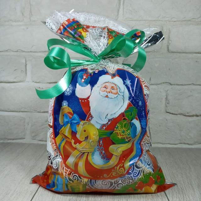 Упаковка новогодняя для сладостей