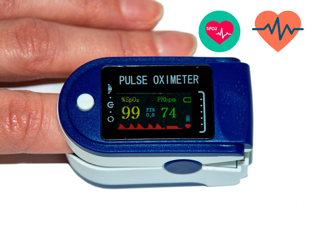 Распродажа! Пульсоксиметр (оксиметр) на палец LK88 - прибор для измерения кислорода в крови   (пульсоксіметр)