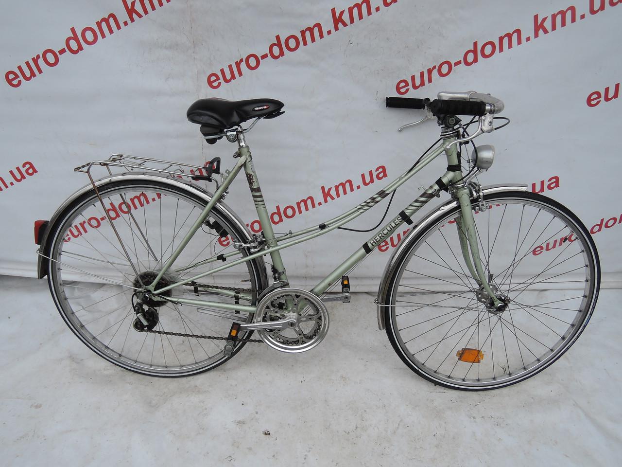 Городской велосипед Hercules 28 колеса 12 скоростей