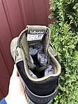 Мужские зимние кроссовки Adidas Tubular (темно-зеленые) 10040, фото 2