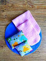 Набор текстиля из 5 предметов для игрушечной мебели в Кабинет кукольного домика кукол Барби Barbie (1108)
