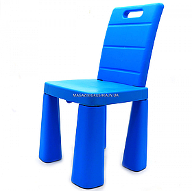 Стульчик-табурет детский Doloni-toys, голубой, 30х30х60 см (04690/1)