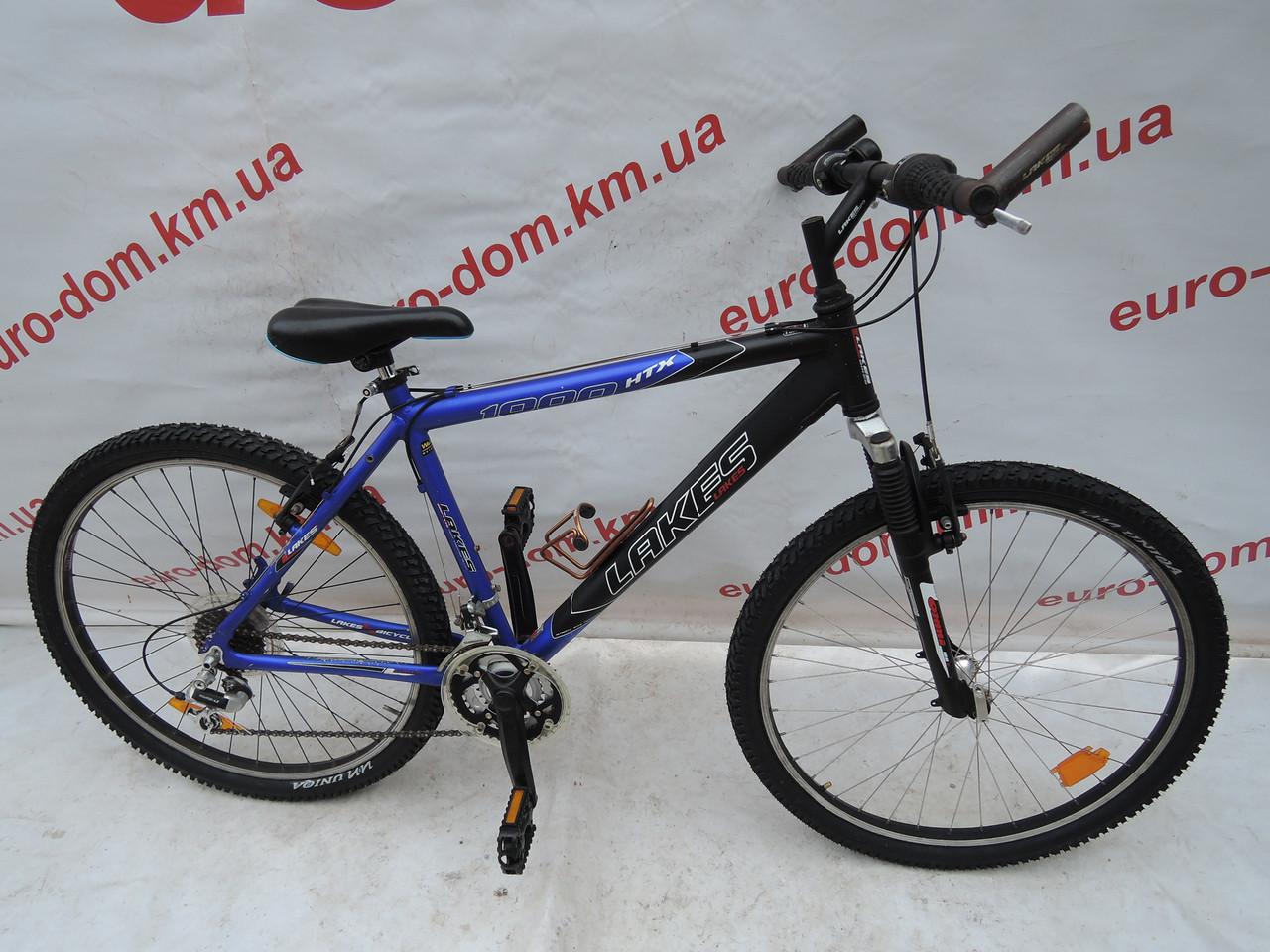Горный велосипед Lakes 26 колеса 18 скоростей.