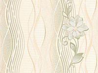 Обои Виниловые на бумажной основе  Славянские обои Лия М32504   10,05х0,53м Оливковый 4824033155546