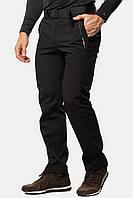 Брюки спортивные черные Softshell Windstopper Avecs AV-50198 софтшелл Разм. S/46 M/48 L/50 XL/52 2XL/54 3XL/56