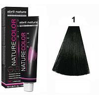 Стійка крем-фарба для волосся Abril et Nature Nature Color Plex 1 Чорний 120 мл