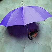 Зонт-трость автомат 12 спиц стекловолокно сиреневый Impliva (Голландия) GA320.814C