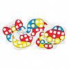 """Развивающий набор """"Моя первая мозаика"""" Крупные фишки Quercetti, фото 3"""
