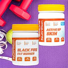 Black Fire Fat Burner Супер фигура + AKTIVE UP SKIN Комплекс Здоровая Кожа