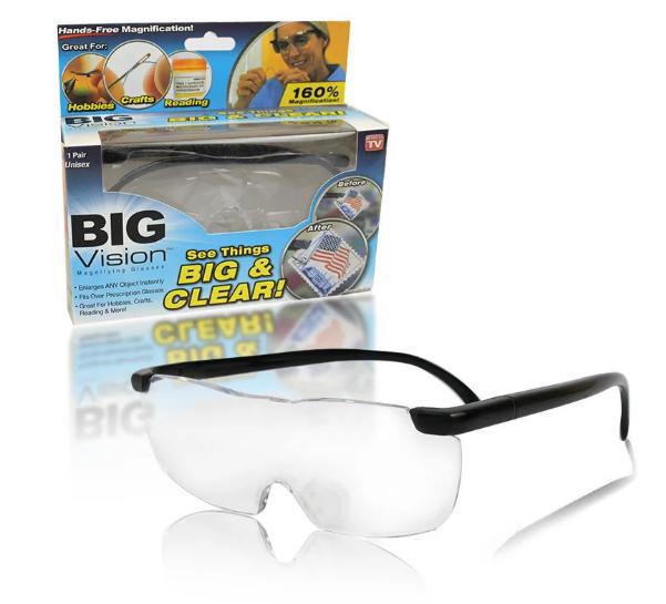 Збільшувальні окуляри-лупа Big Vison BIG & CLEAR