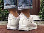 Чоловічі зимові кросівки Nike Air Force (білі) 10051, фото 7