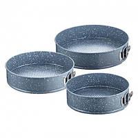 Набор разъемных форм для выпечки 3 предмета Peterhof PH-25370