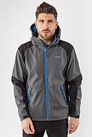 Ветровка толстовка куртка мужская серая Softshell Avecs 50176/2 Размеры S L XL 2XL