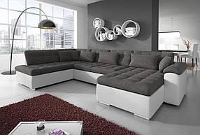 Диван П-образный дизайнерский под заказ Элегия-19 (Мебель-Плюс TM)