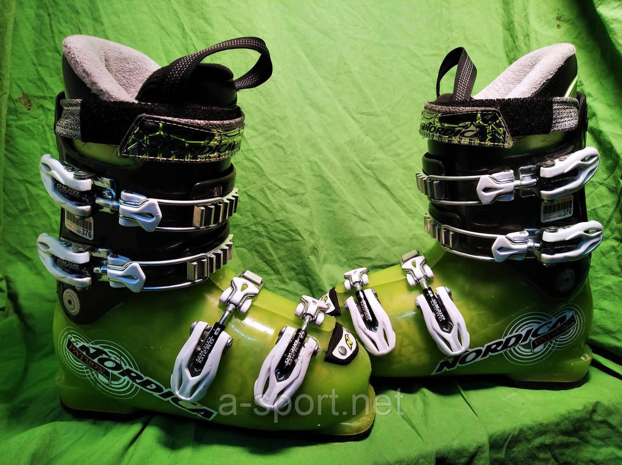 Гірськолижні черевики Nordica patron 21.5 см