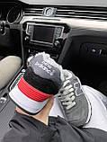 Женские зимние кроссовки New Balance NB 574 на меху PA295 серые, фото 9