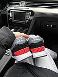 Женские зимние кроссовки New Balance NB 574 на меху PA295 серые, фото 5