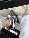 Женские зимние кроссовки New Balance NB 574 на меху PA295 серые, фото 6