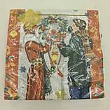 Новогодняя салфетка (ЗЗхЗЗ, 20шт) LuxyНГ Подготовка к Рождеству(1236) (1 пач), фото 4