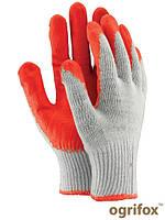Перчатки защитные, покрытые резиной OX-UNIWAMP WC