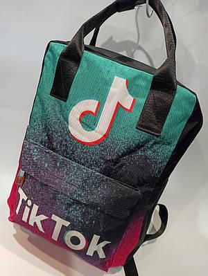 Стильный тканевый рюкзак Tik Tok Модель: 730