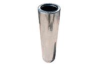 Сэндвич труба для дымохода Д100х160 Нерж/Цинк
