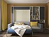 Шкаф-кровать с диваном и пеналом