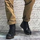 Зимние мужские ботинки Dr.Martens мартинс черные на меху теплые 41-44р. Живое фото. Реплика, фото 8